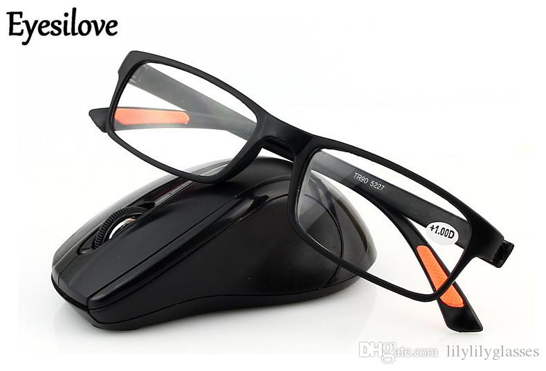 fashion TR90 super light reading glasses plastic reading glasses factory wholesale price lenses power from +1.00 to +4.00