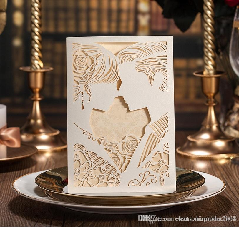 Laser Cut Hollow Wed Invitations Manufacturer,wedding Invitations ...