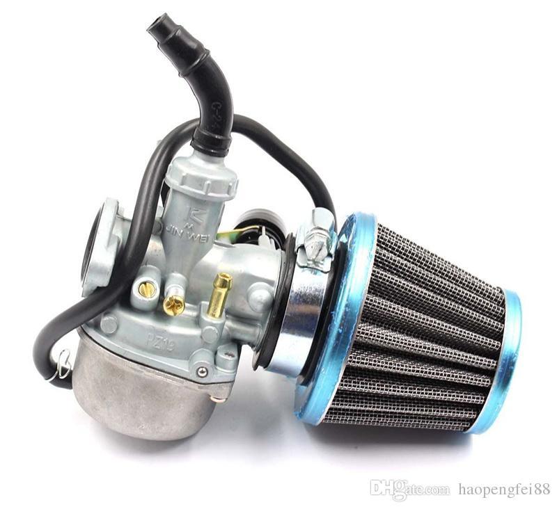 19mm ATV Dirt Bike Go Kart Carb 50cc,70cc,90cc,110cc,125cc,Carburetor & Air  Filter