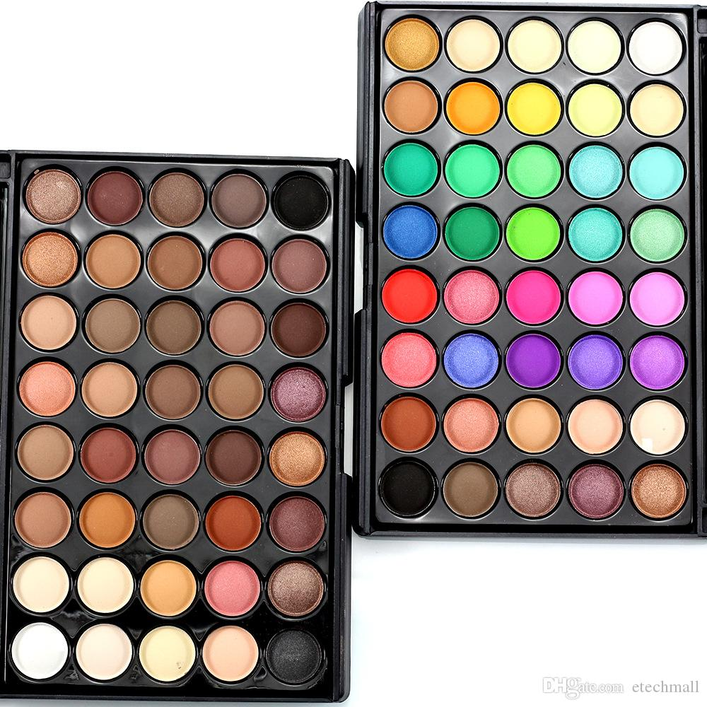2017 New Pearl Shimmer Matte Eyeshadow 40 Colors Palette Long Lasting Beauty Cosmetics Professional Nude Makeup Eye Shadow Kit Sales Of Quality Assurance Beauty Essentials
