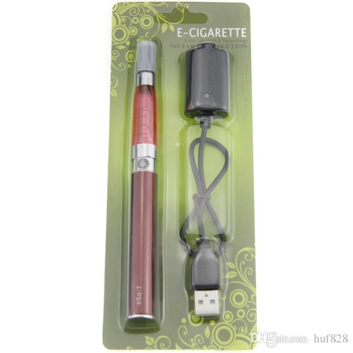 eGo CE5 Blister Kit eGo T electronic cigarette kit wth CE5 atomizer eGo T batteries 650mah 900mah 1100mah