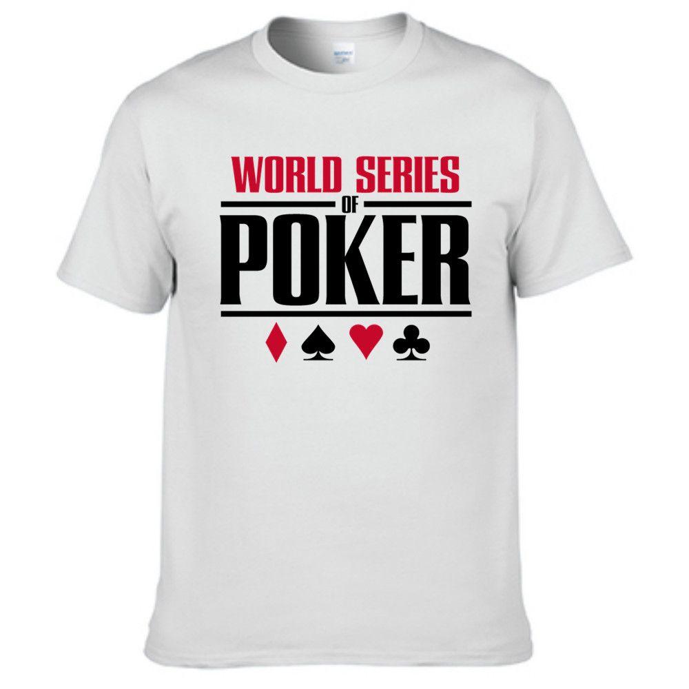 Poker Wsop Hot Sale Brand Men T Shirt Printed Casual T Shirts Tops ...