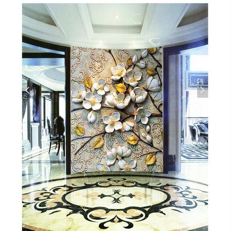 Wholesale Home Decor Online: Wholesale-Home Decor Wall Paper 3d Art Mural HD European