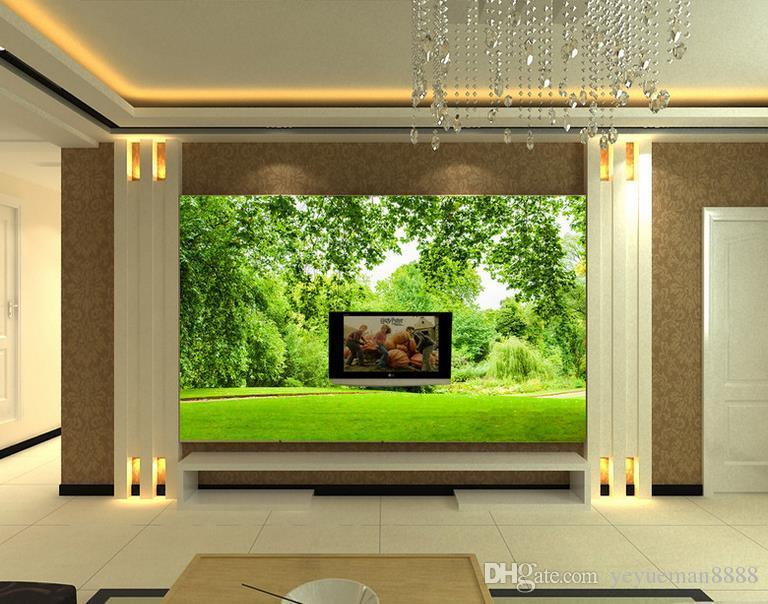 벽에 맞춤형 3D 벽화 투명 수중 세계 벽지 사진 벽면 벽면에 맞게 사용자 정의 3D 벽화
