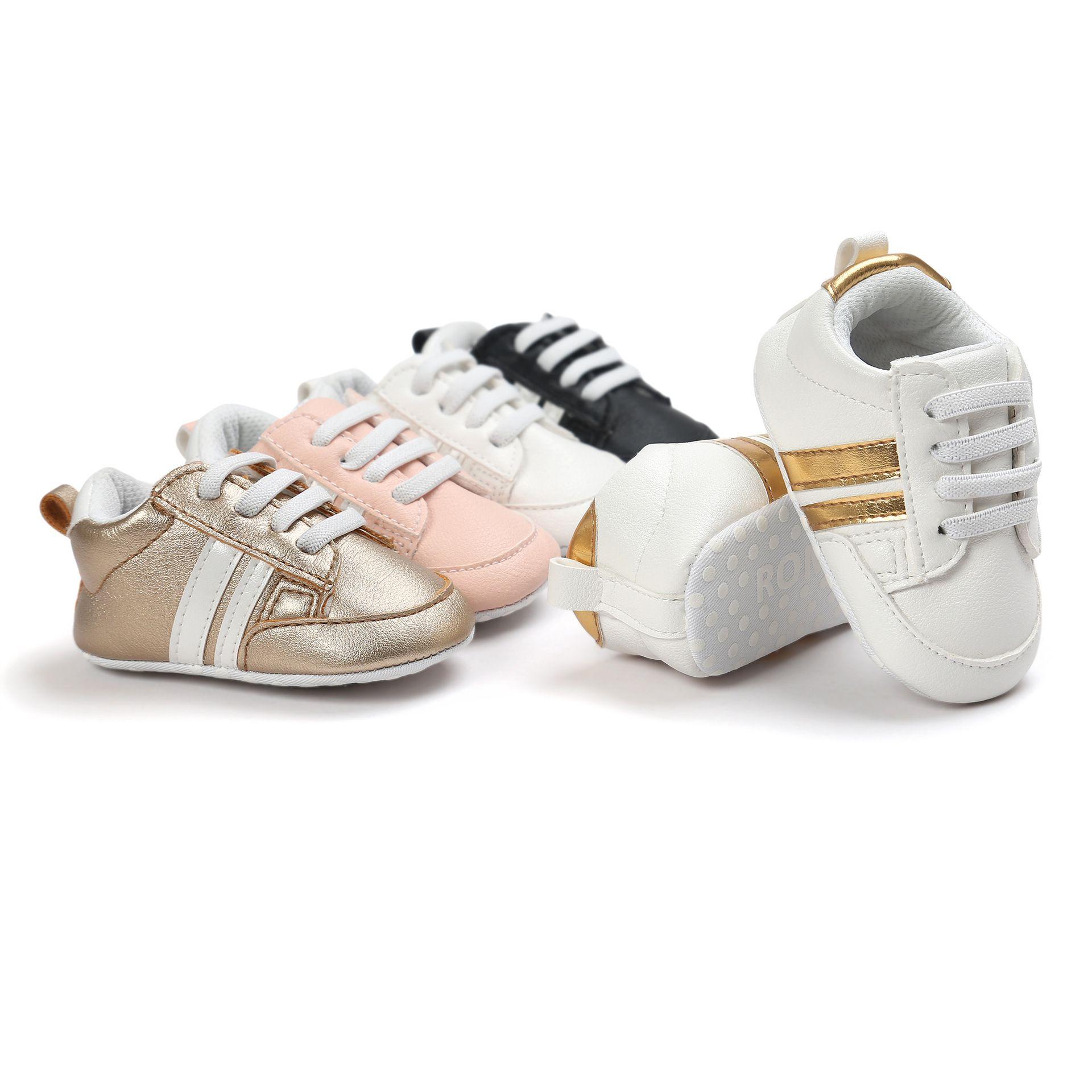 2018 Pu Leather Shoe Baby Shoes Soft Bottom Anti Skidfor Infant