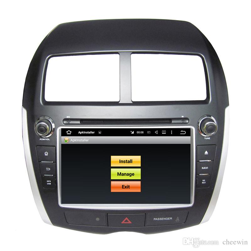 Top sale Android 5.1 Car DVD player for Mitsubishi ASX with 8inch HD Screen ,GPS,Steering Wheel Control,Bluetooth, Radio
