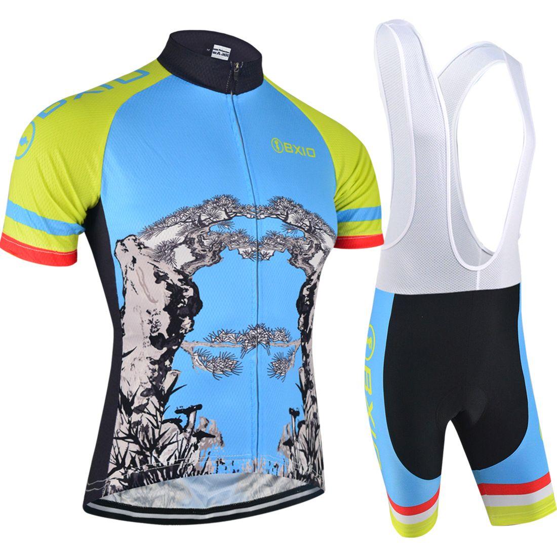 BXIO Brand Summer Type New Cycling Set Bike Outdoor Sport Wear ... 9126f83ec