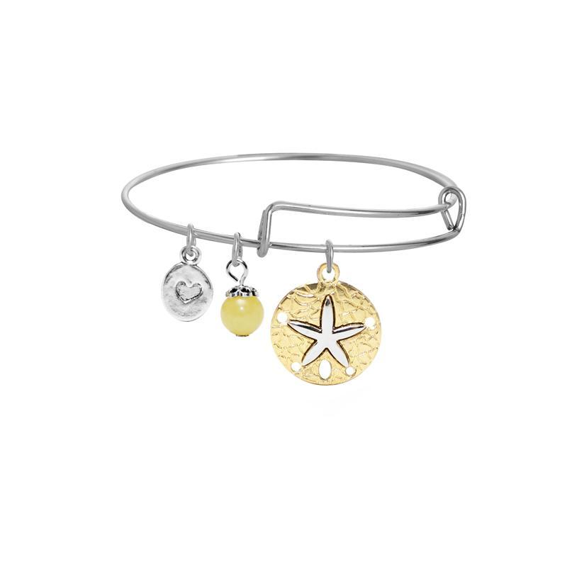2017 newest fashion bracelet jewelry wholesale expandable bangle bracelet with different charm pendants DIY wire bracelet for women&girls