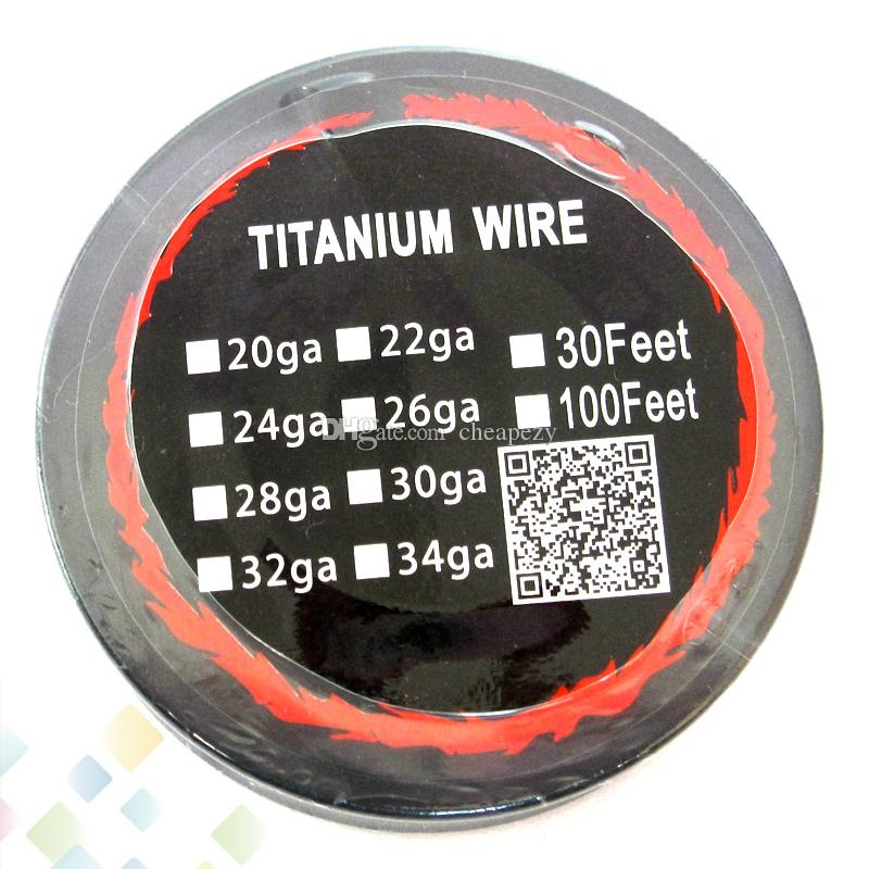 High quality titanium wire resistance 30 feet ta1 awg 24g 26g 28g see larger image keyboard keysfo