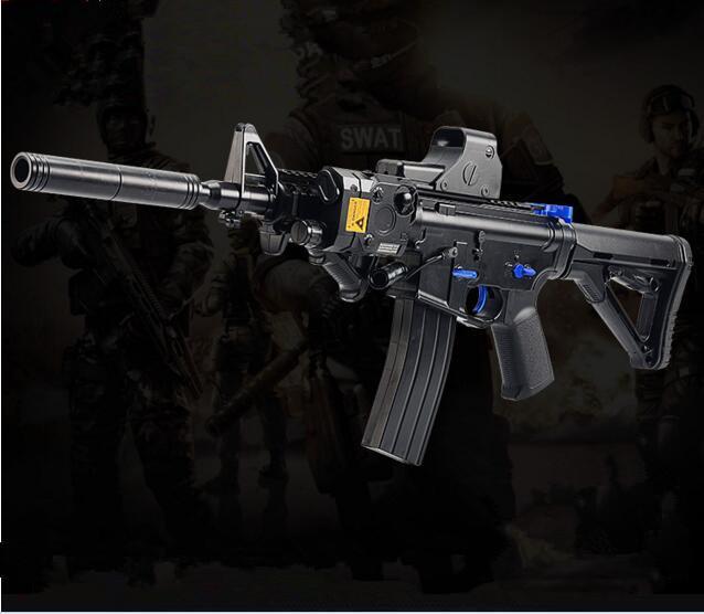 Großhandel M4 Update Elektrische Wasser Kugel Pistole Mit ...
