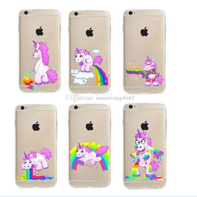 custodia iphone 6 plus unicorno
