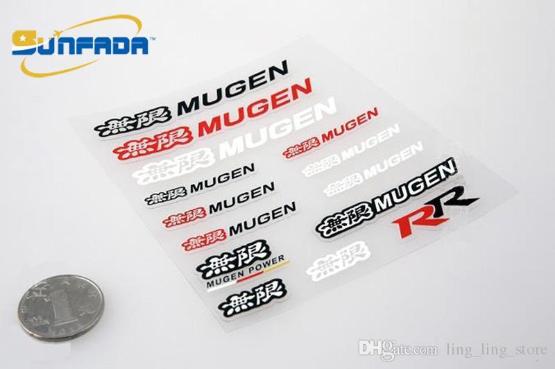 SUNFADA Carro-Styling Mugen Poder Adesivo Decalque Acccessories Etiqueta Do Carro Para Mugen Honda Accord Civic FIT Jazz ODYSSEY CIDADE