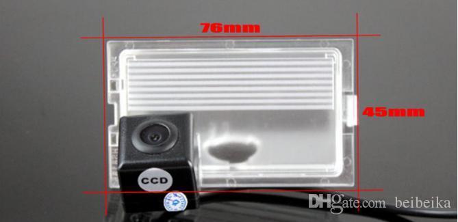 Câmera Traseira do carro Para Land Rover Discovery 3/4 Câmera de Estacionamento / HD CCD RCA NTST PAL / License Plate OEM Lâmpada