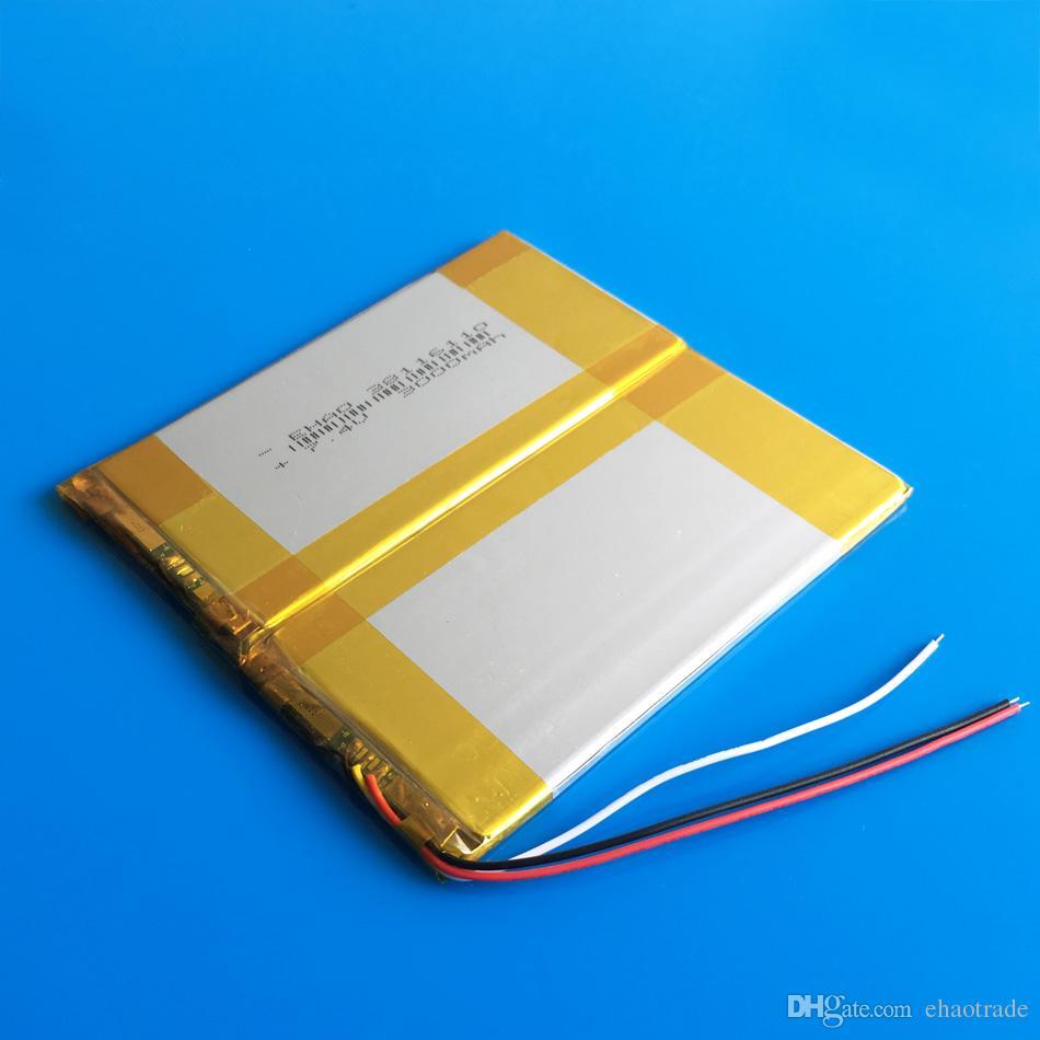 Модель 38116110 7,4 в 3000mAh литий-полимерная литий-Po аккумулятор для DVD коврик для мобильного телефона GPS питания банк камеры e-книги TV коробка перекодировщик
