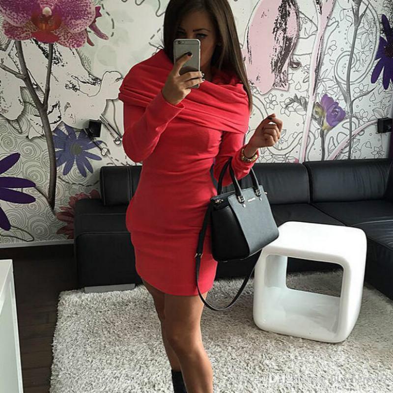 Red and Black for Elegant Women Dresses