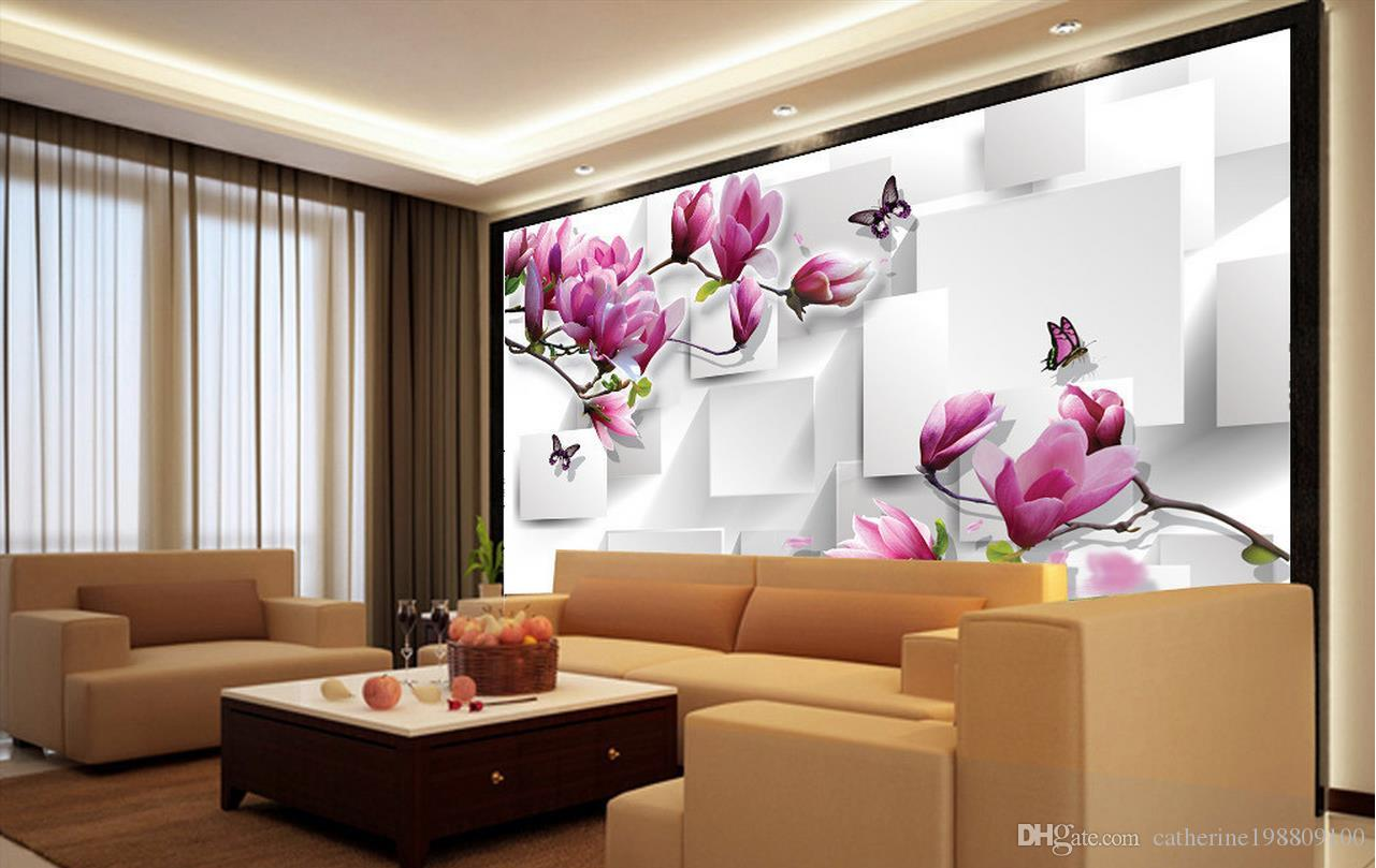 Customized Wallpaper For Walls Home Decor Living Room ...