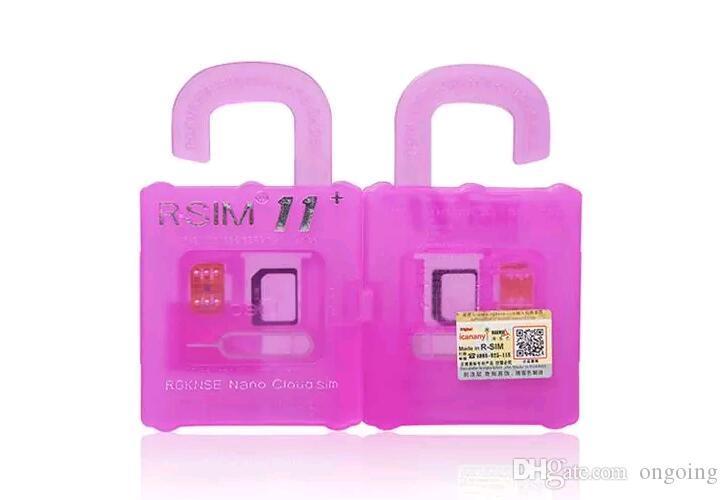 Rsim 11+ r sim 11+ RSIM11+ r sim11+ plus unlock card for iPhone 7 plus iphone 6 unlocked iOS 10.x-7.x 4G CDMA GSM WCDMA SB AU SPRINT
