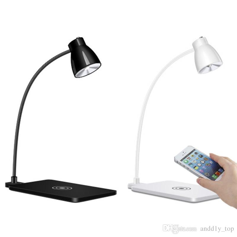 Charging For With Wireless Rotating Charger Phone Degree Samsung 360 X 8 Lamp Support Iphone Table Led Desk PkiOTluXwZ