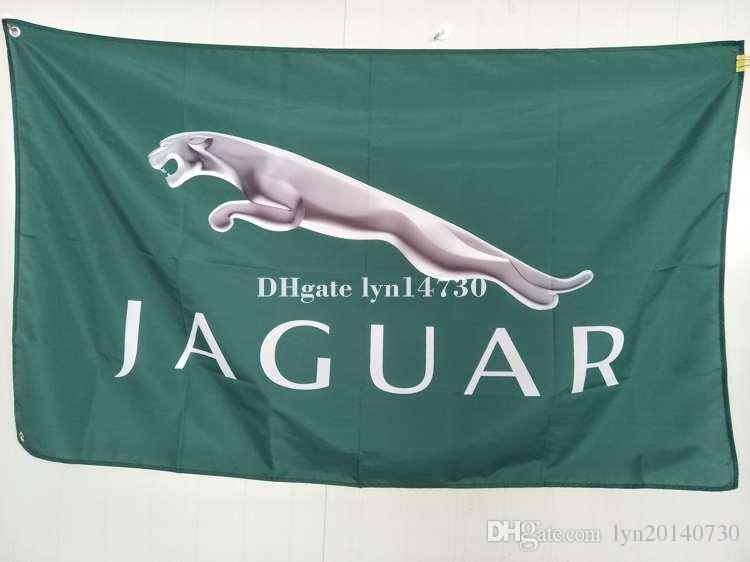 Jaguar Flag For Car Show Can Custom Print FileXCM Size - Car show flags
