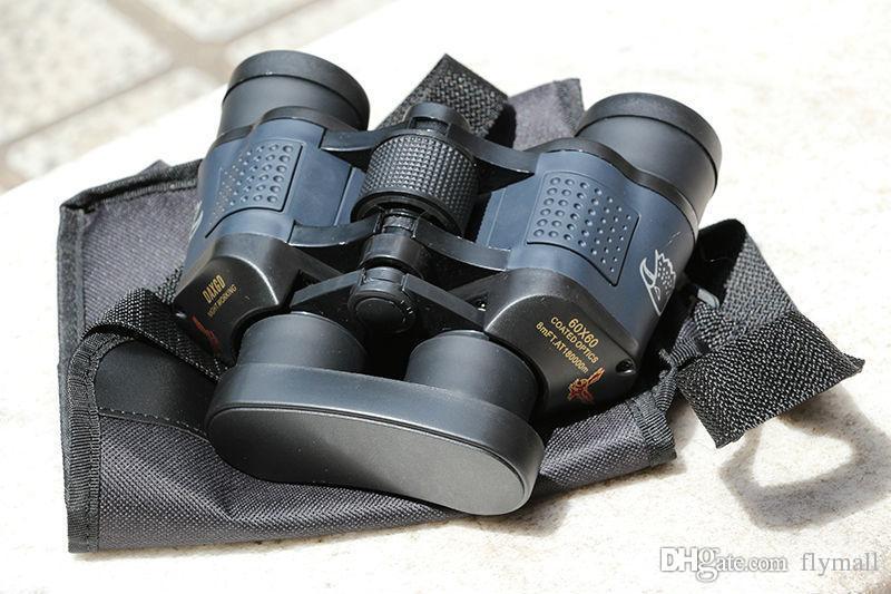 60x60 3000M Outdoor Waterproof Telescope High Power Definition Binoculos Night Vision Hunting Binoculars Monocular Telescopio