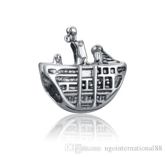 8ef11472e 2019 Fits Pandora Bracelets Pirate Ship Silver Charm Beads Charms For  Wholesale Diy European Necklace Snake Chain Bracelet From  Ugointernational88, ...