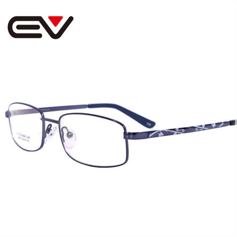 b395a83fb78 2019 Wholesale Christmas Gifts Business Optical Myopia Glasses Womens  Titanium Eyeglasses Frame Armacao De Oculos De Grau Feminino EV0741 From  Naixing