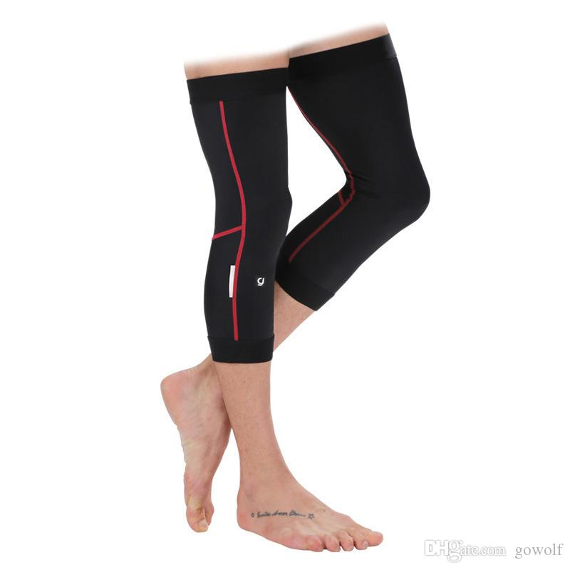 Cycling Bike Bicycle UV Sunscreen Protection Cool Leg Warmers Guard Knee L-2XL