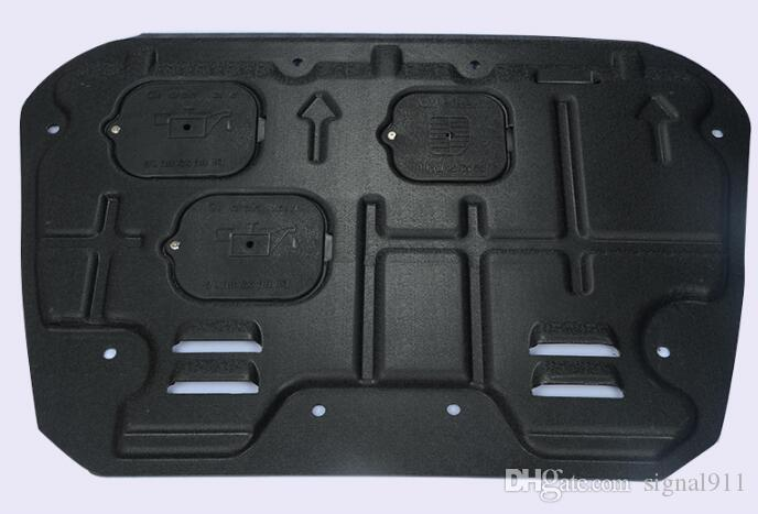 ! High quality 3D plastic steel car engine skid plate,motor bottom panel,guard plate,protecting plate for Honda Civic 2016