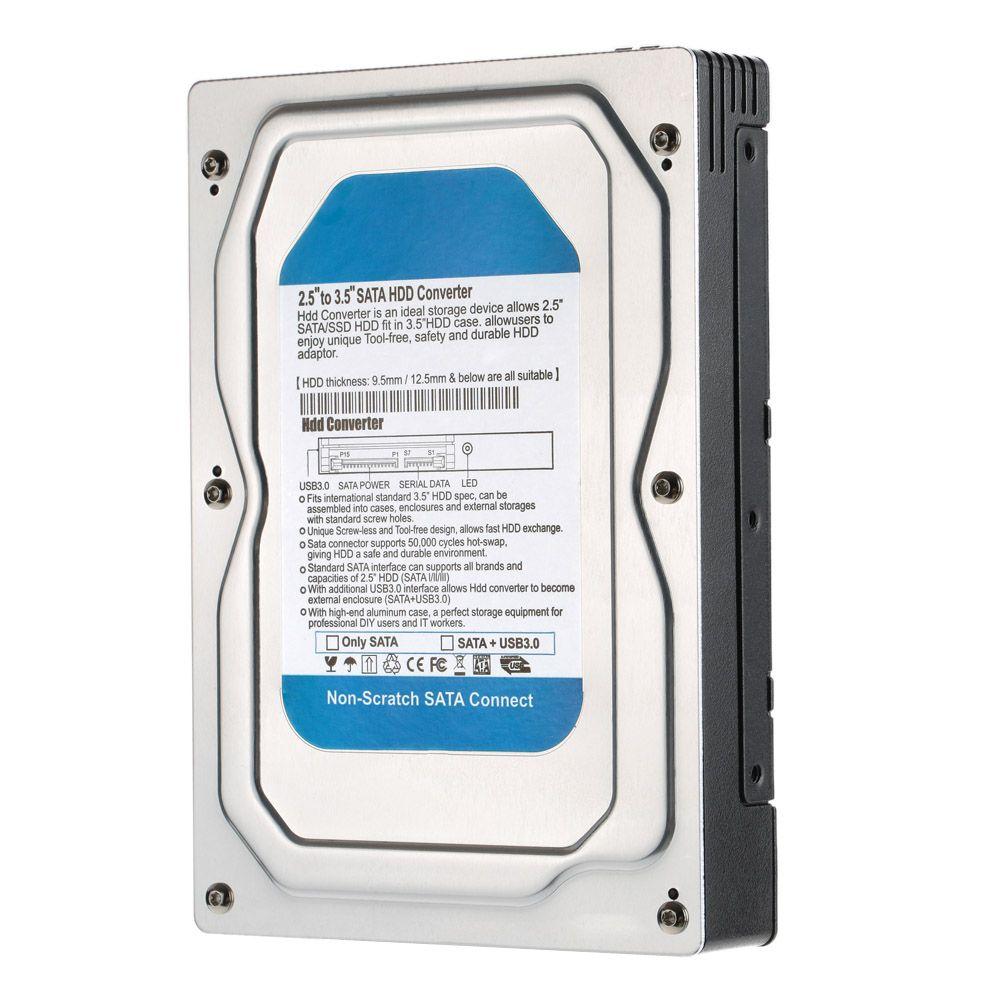2019 Wholesale Single Bay 2 5 To 3 5 Sata Converter Adapter Usb 3 0
