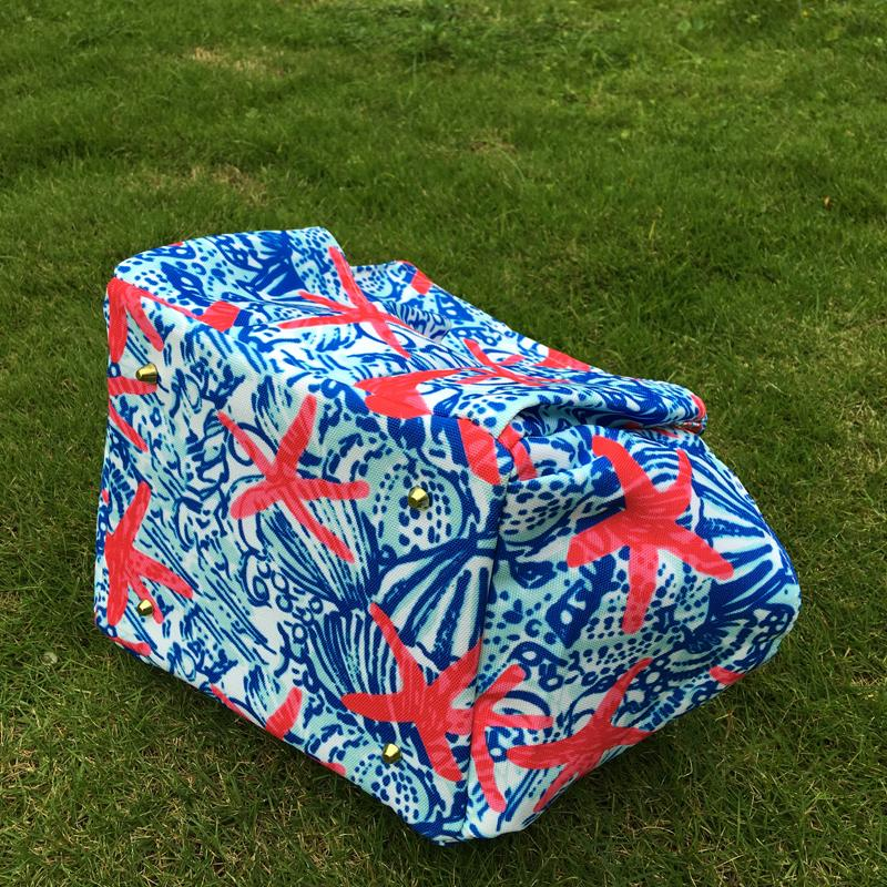 Lilly Floral Garden Tool Bag Crown Utility Bag Tool Hanging Tote in Gift Toy Bag Kids Beach Tote DOMIL106609