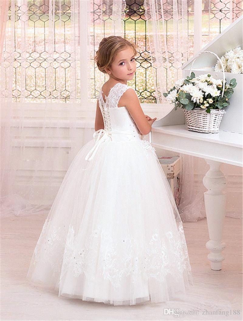 2019 da festa de Páscoa NOVO Halloween Wedding menina Dress Comunhão Partido HOT Flor Prom Pageant dama de honra