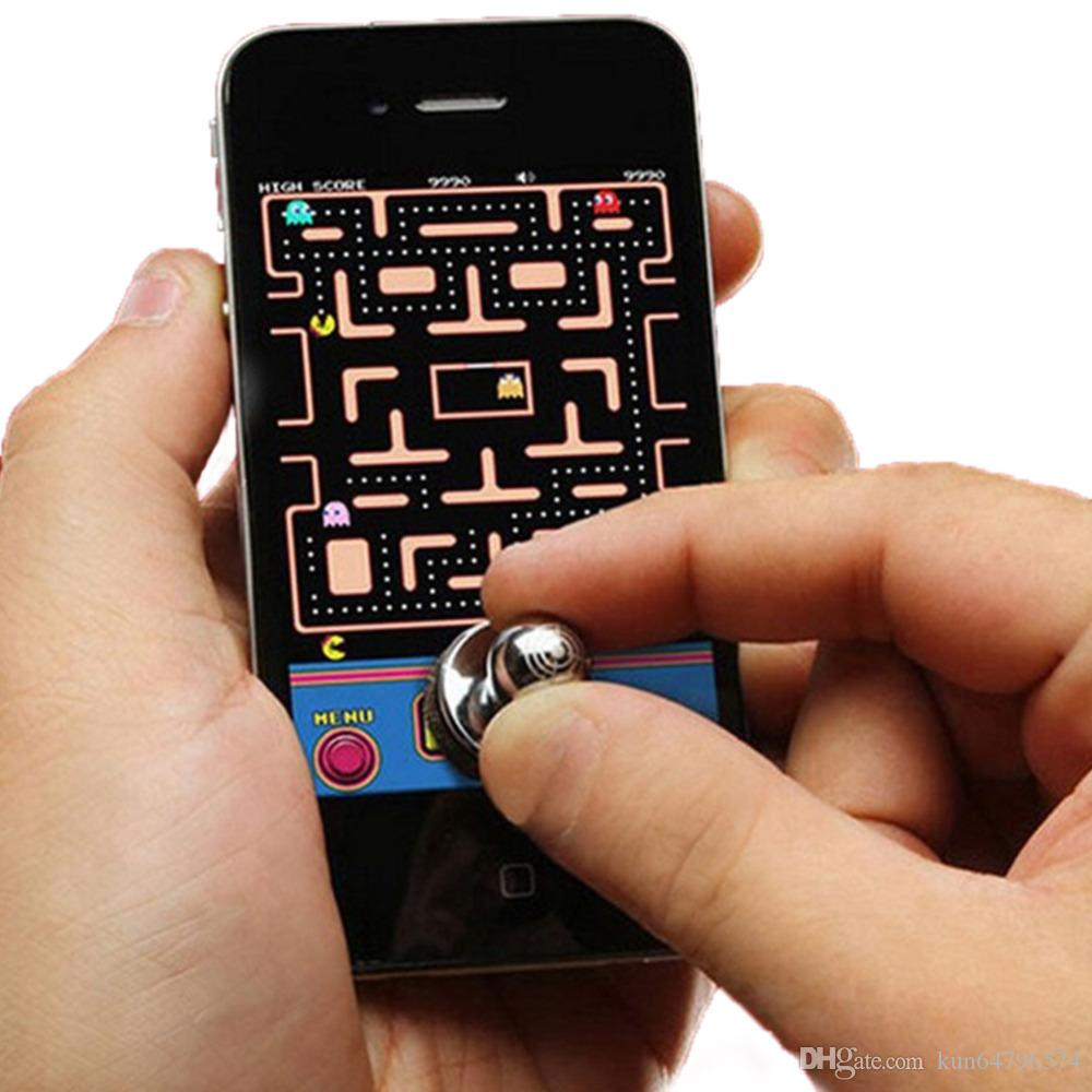 Joystick-IT Sensitive Mobile Game Controller Joystick Handlebar Joystick Mouse Handle Grip For Iphone ,Android Cell Phone Wholesale Cheap