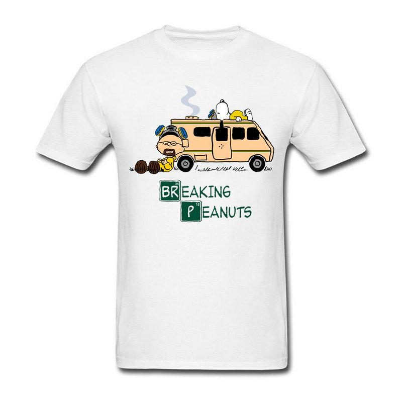 b61461609b O Neck Mens Top Tee Custom Made Man Breaking Peanuts Tee Shirts Pre Cotton  3D Printed Cool T Shirt Designer T Shirts Short Sleeve Shirts From  Bstdhgate04