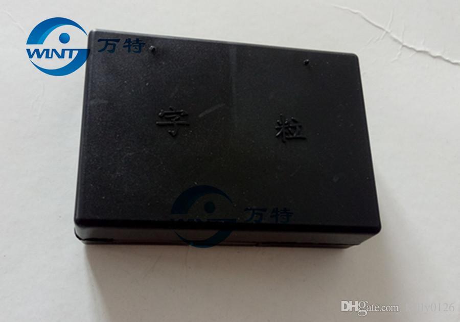 Livraison gratuite 2 * 3 * 15mm lettre / alphabet / police pour machine de codage de date HP-241B / DY-8, machine de codage de ruban, machine d'impression de date