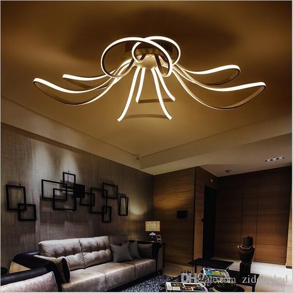 AC85-265V Minimalism Modern Led Ceiling Lights for Living Room ...