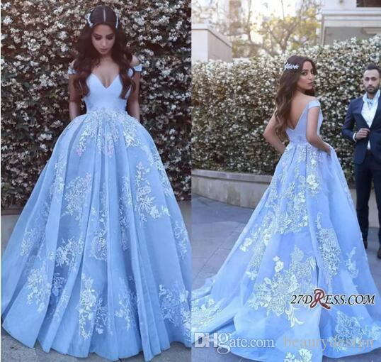 65106c4de56 Sheer Ice Blue Lace Formal Prom Dresses Long 2019 With Sexy Backless Arabic Dress  Evening Wear Sleeveless Mermaid Pageant Gowns Plus Size Wanelo Prom ...