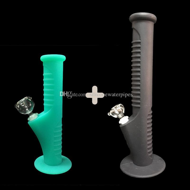 5DHL Свободной перевозка груз fuls нового набор силиконовых Труб Мини воды и силиконовые Водопроводные трубы стеклянных бонги стеклянных трубы воды затяжки