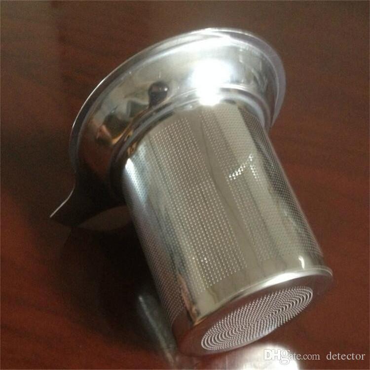 Nuovo filtro in acciaio inossidabile Infusore tè Filtro riutilizzabile Filtro foglie di tè sfuso Strumenti tè e caffè DHL FEDEX Free