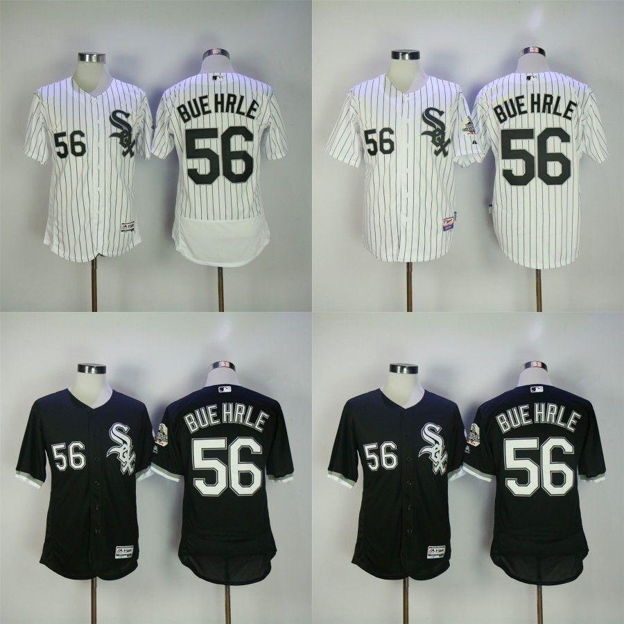 2017 men women youth chicago white sox jerseys 56 mark buehrle jersey flexbase cool base home