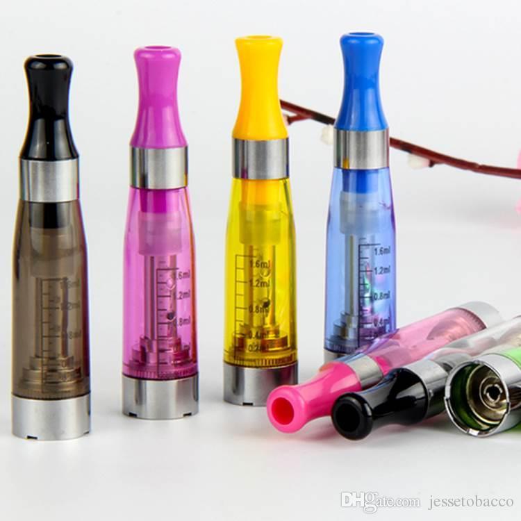 CE5 Vaporizador E cigs No Wick 510 Thread 1.6ml Atomizador 2.4 Ohm 8 Cores Clearomizer para Cigarro Eletrônico Ego T Evod