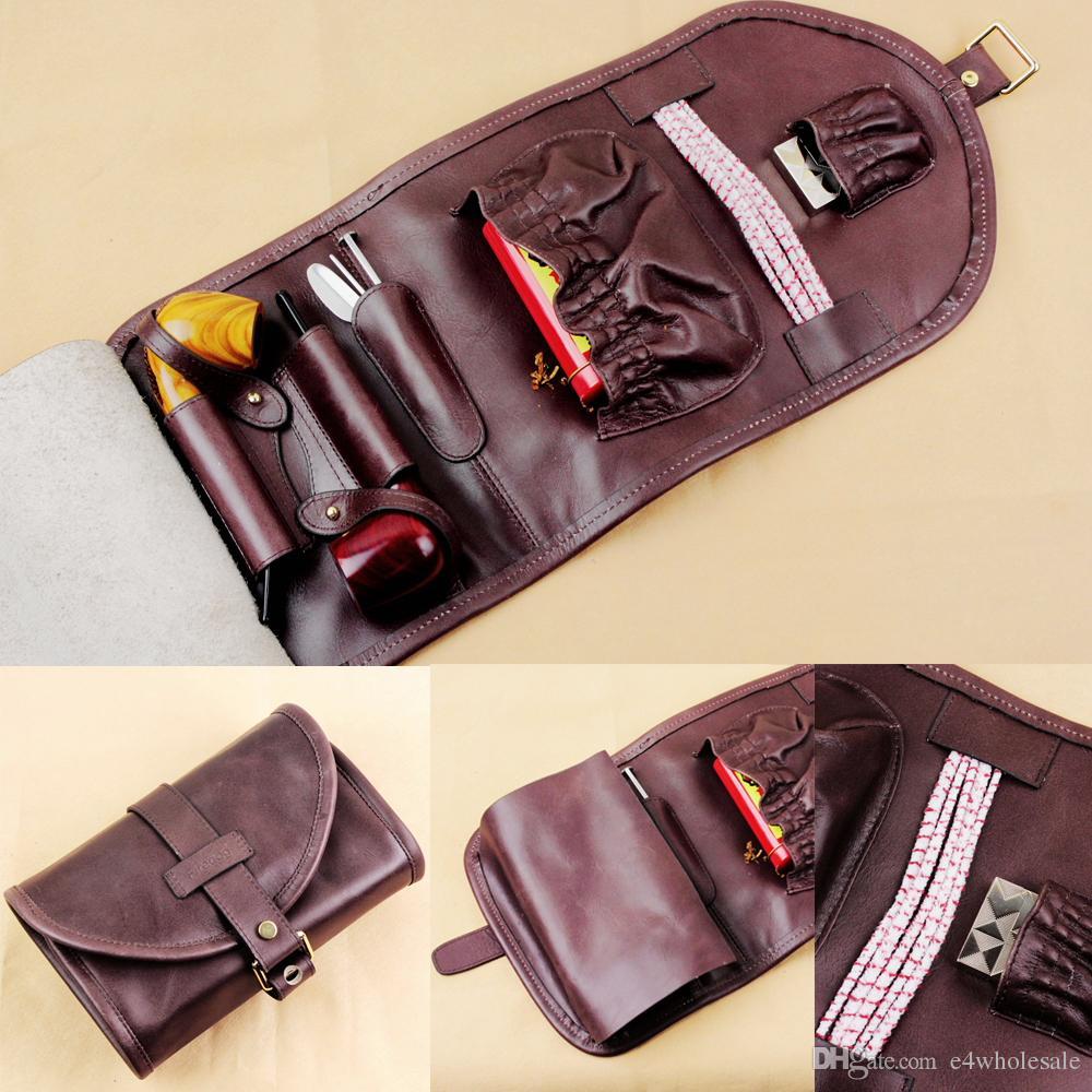 pipe bag  Leather handmade pipe bag  pocket pipe bag  pipe