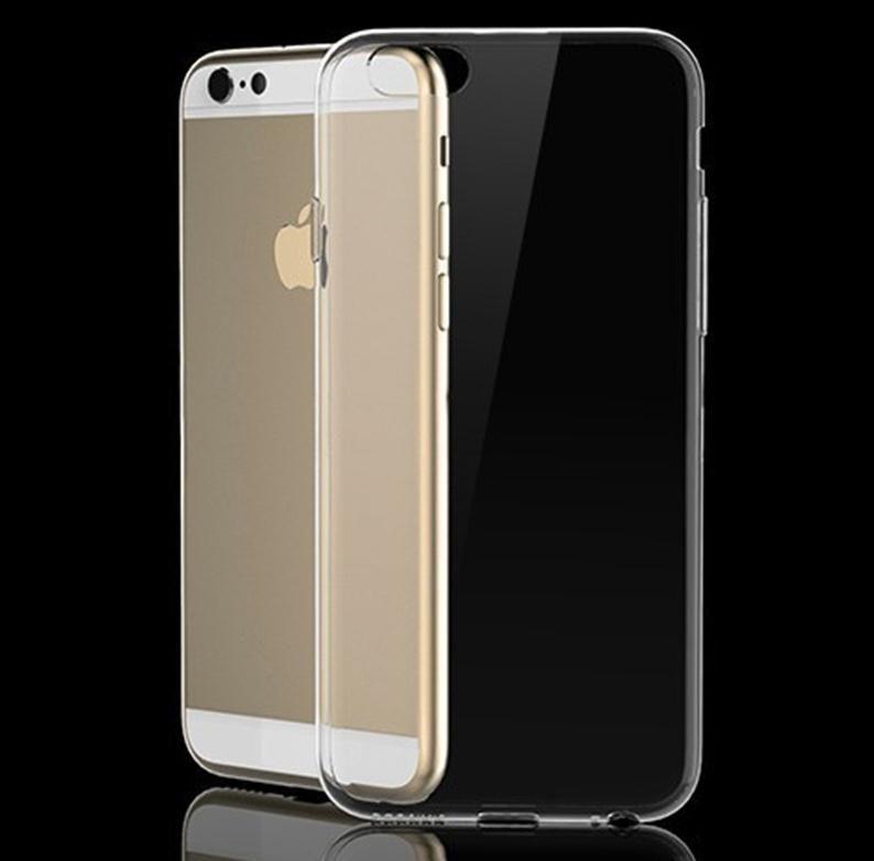 DHL libera la cubierta suave transparente de la protección del teléfono de la cubierta TPU para el iPhone 6 6S 7 más Samsung Galaxy S8 S7 S6