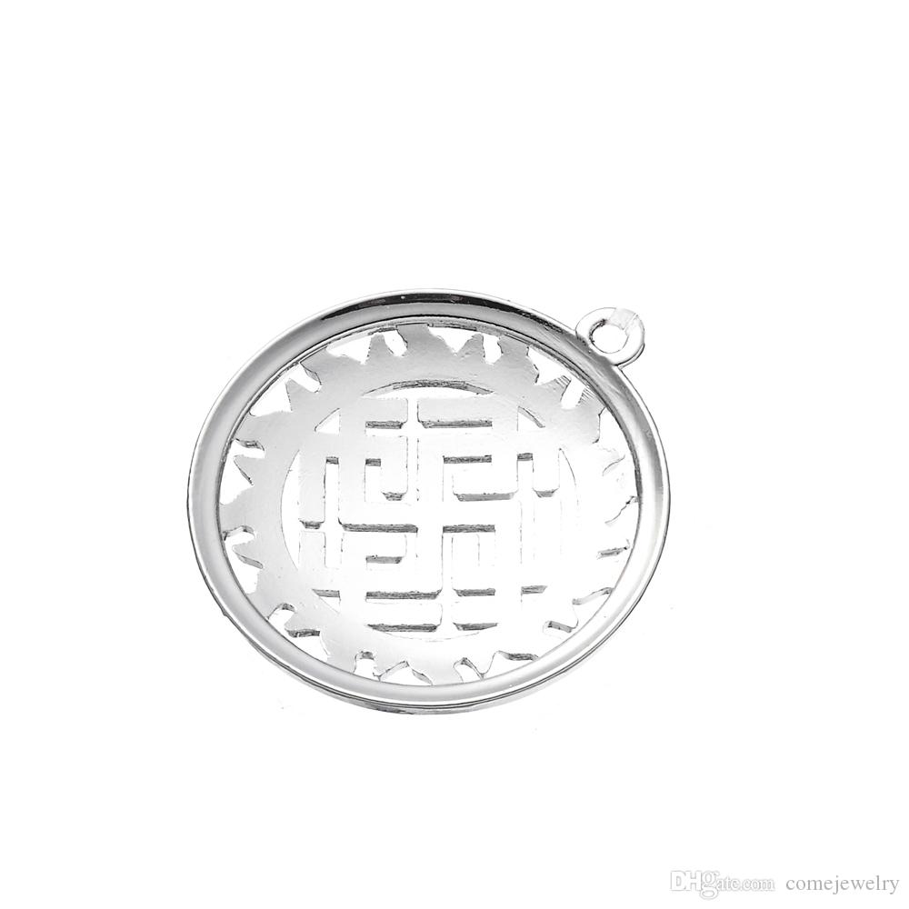Lemegeton Direct Factory Lowest Unique Special Design Antique Silver Plated Slavic Talisman Amulet Svarozhich Charm Bracelet