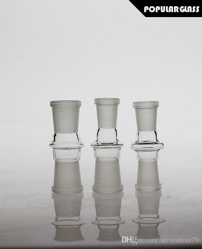 Adattatore di vetro Saml Adattatore Adattatore Bong Bong Atpters Tubo di fumo Adattitori Adattatori Adattatori Maschio / femmina Giunto 14.4mm / 18.8mm PG5074