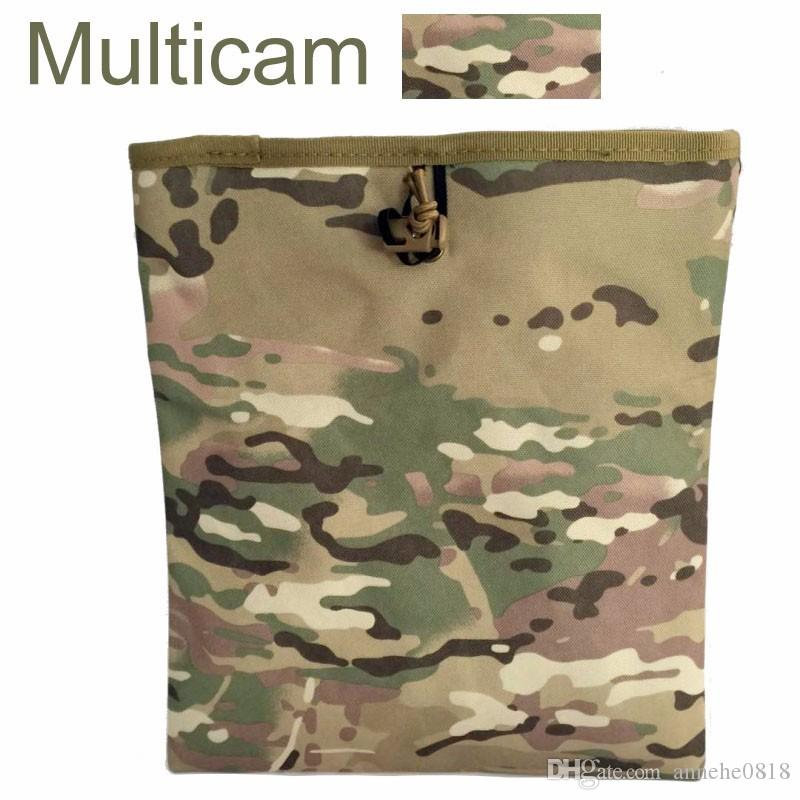 Tactical Mag Dump Pouch Airsoft Paintball Recovery Molle magazine Pouch Hunting Slingshot Ammo Bags