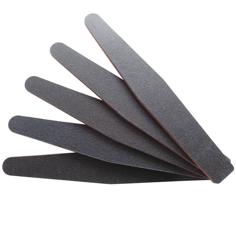 Wholesale / Black Nail File 100/180 Manicure Tools Diamond Nail File ...