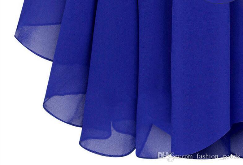 Robe en une seule pièce en mousseline de soie pour femmes A ++ explosives Temperament Diamond Sling Robe d'été mince LX027