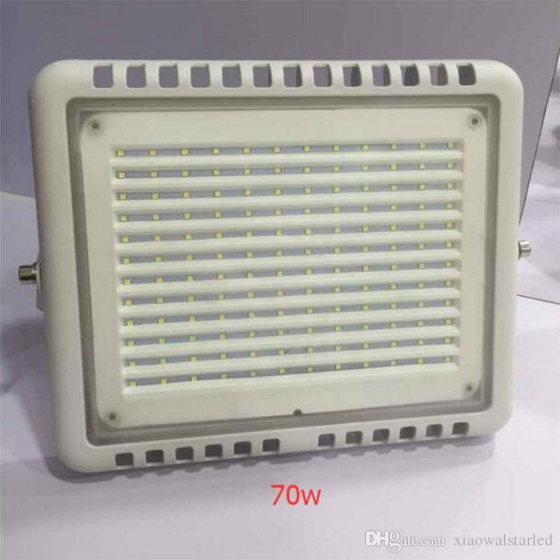 Nova luz de inundação led AC85-265V 50 W 70 W 100 W CONDUZIU o Holofote Ao Ar Livre Flood spot lâmpada à prova d 'água Túnel LED para quota de mercado