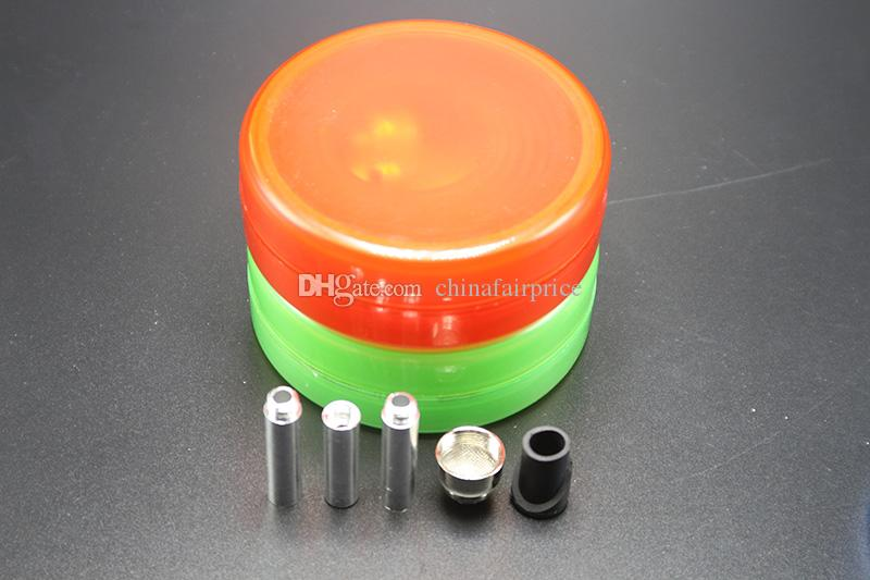Plastic Collapsibl Bong With Oil Rigs Water Bongs High Quality Pocket Water Pipes Travelling Pipe Tobacco Bongs Vs Glass Bong