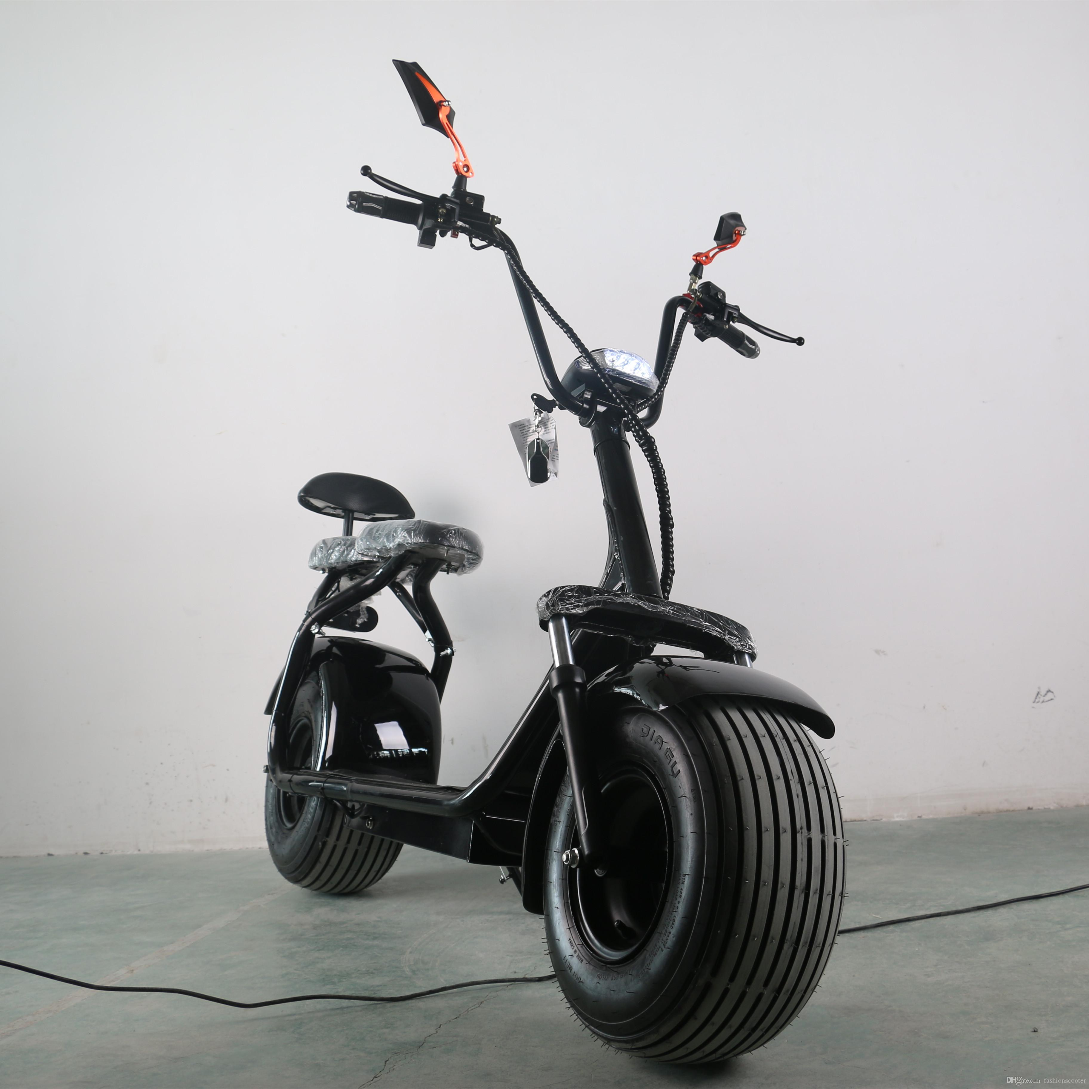 2018 2 Wheels Electric Scooter Hub Motor For Adults Harley
